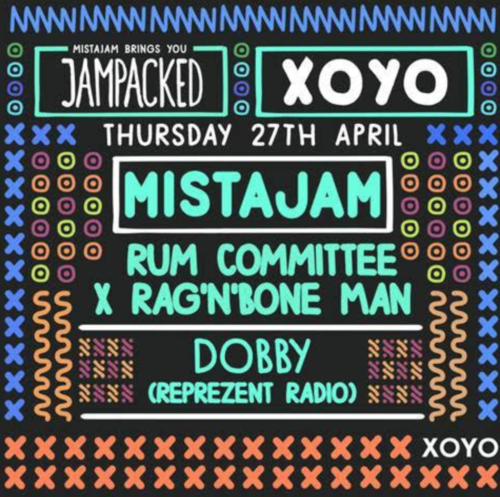 Rum Committee, & Rag 'n' Bone Man headline Mista Jam's JamPacked!