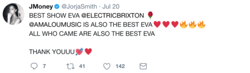 REVIEW: Jorja Smith w/ Ama Lou at Electric Brixton