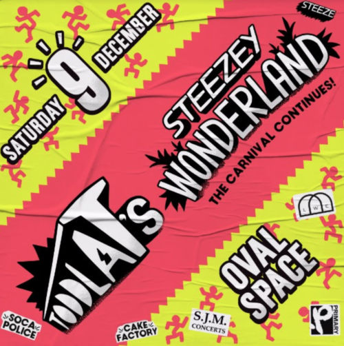 The Carnival continues with Toddla T's Steezey Wonderland