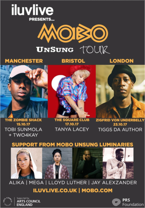 MOBO Announces The 2017 UnSung Tour
