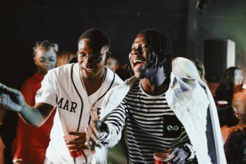 NEW VIDEO: Stonebwoy & Kojo Funds bring Dancehall & Afrobeats vibes on 'Falling Again'