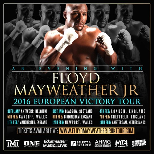 The Victory Tour With Floyd Mayweather Jr